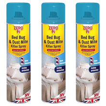 STV Zero In Bed Bug & Dust Mite Killer Spray 300ml Pest Control Treatment