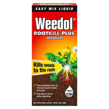 Weedol Rootkill Plus Weedkiller 1L Easy Mix Liquid Fast Acting Concentrate - Kills Weeds To The Roots