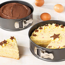 Essentials by Prochef Set Of 2 Springform 7 & 8 Inch Cake Tin Non-Stick Baking