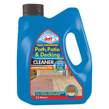 Doff Patio, Path & Decking Cleaner Super Concentrate 2.5L Removes Mould Mildew Algae