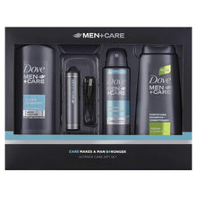 Dove Men Plus Ultimate Care Gift Set Charger Body Wash Shampoo Antiperspirant