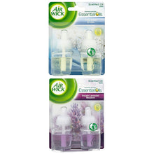 Air Wick Scented Oil Refills Pack Crisp Linen and Lilac Purple Lavender Meadow