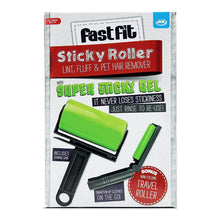 JML Fast Fit Large Sticky Roller Lint Pet Hair Remover with Mini Travel Roller