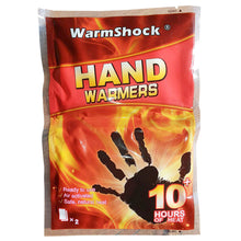 WarmShock Hand Warmers 2 Pack Ready To Use Air Activated Safe Natural Heat