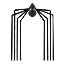 Scream Machine Large Whole Room Spider Hanging Decoration Long Legs