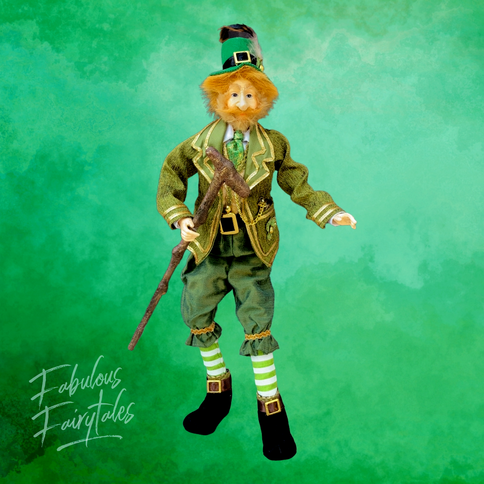 Lucky Irish Leprechaun display dolls and figures