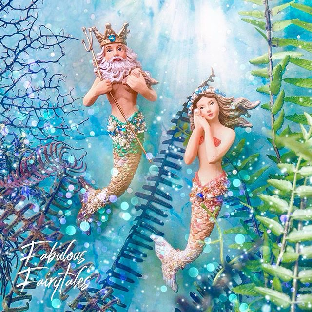 Mermaid Decorations and Kissing Fish Ornaments Shop