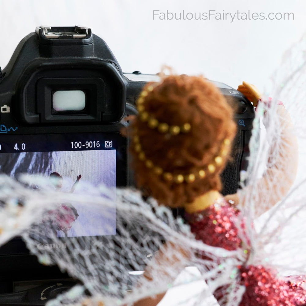 Fabulous Fairy Tales - Fairy Ballerina Doll Decorations Shoot