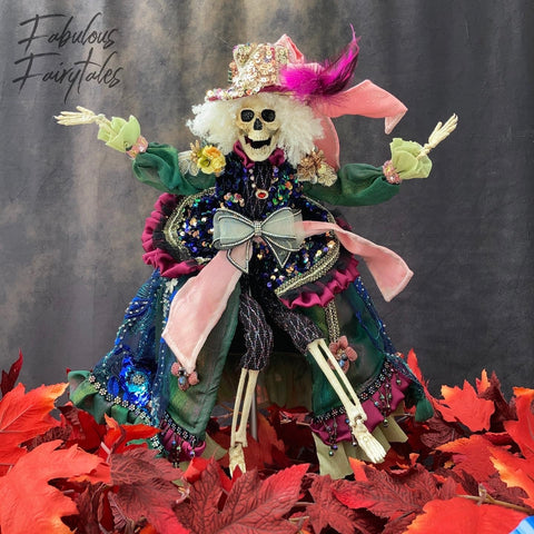 Mark Roberts Halloween Skeleton Decor
