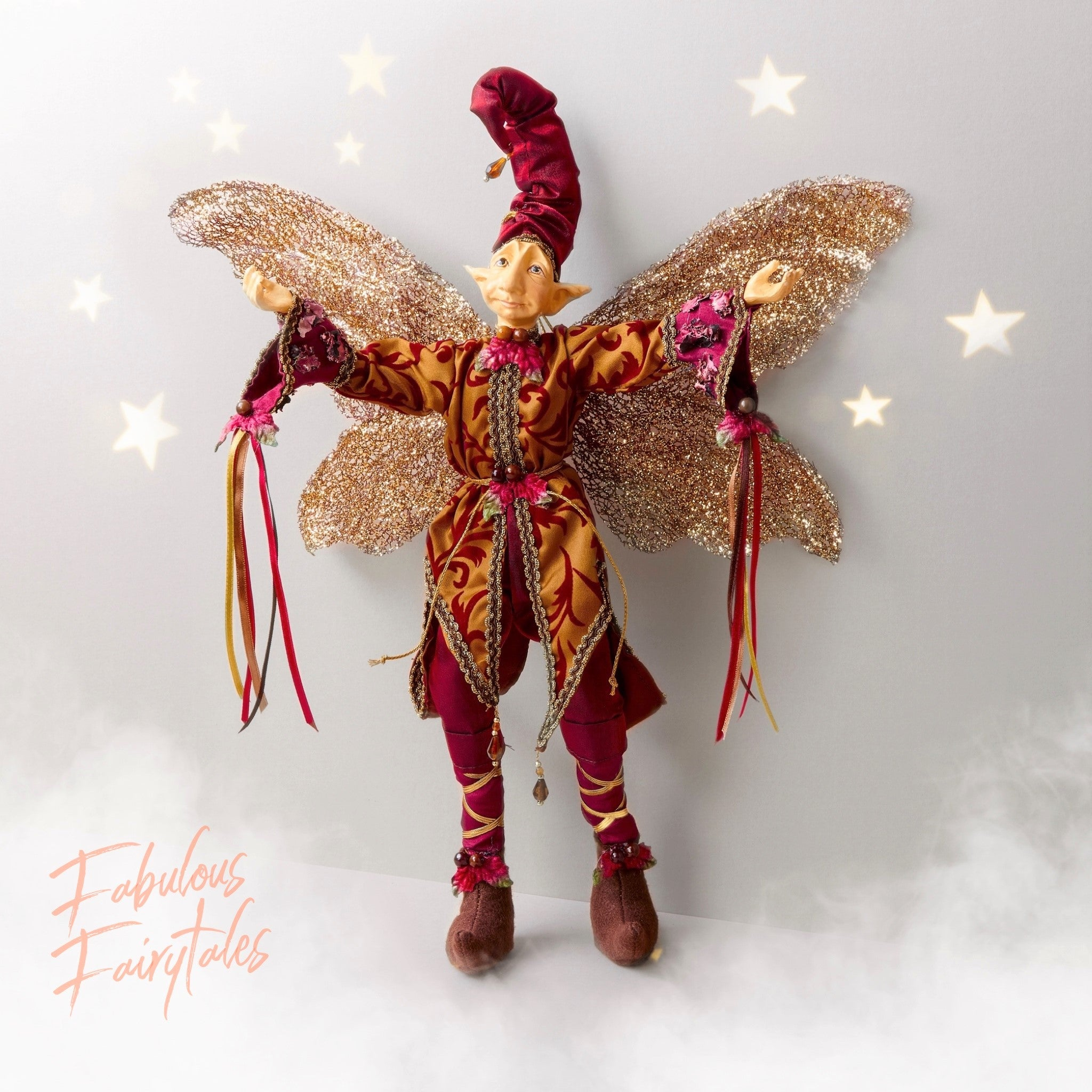 Fabulous Fairytales - Bruno the Forest Wizard Decoration