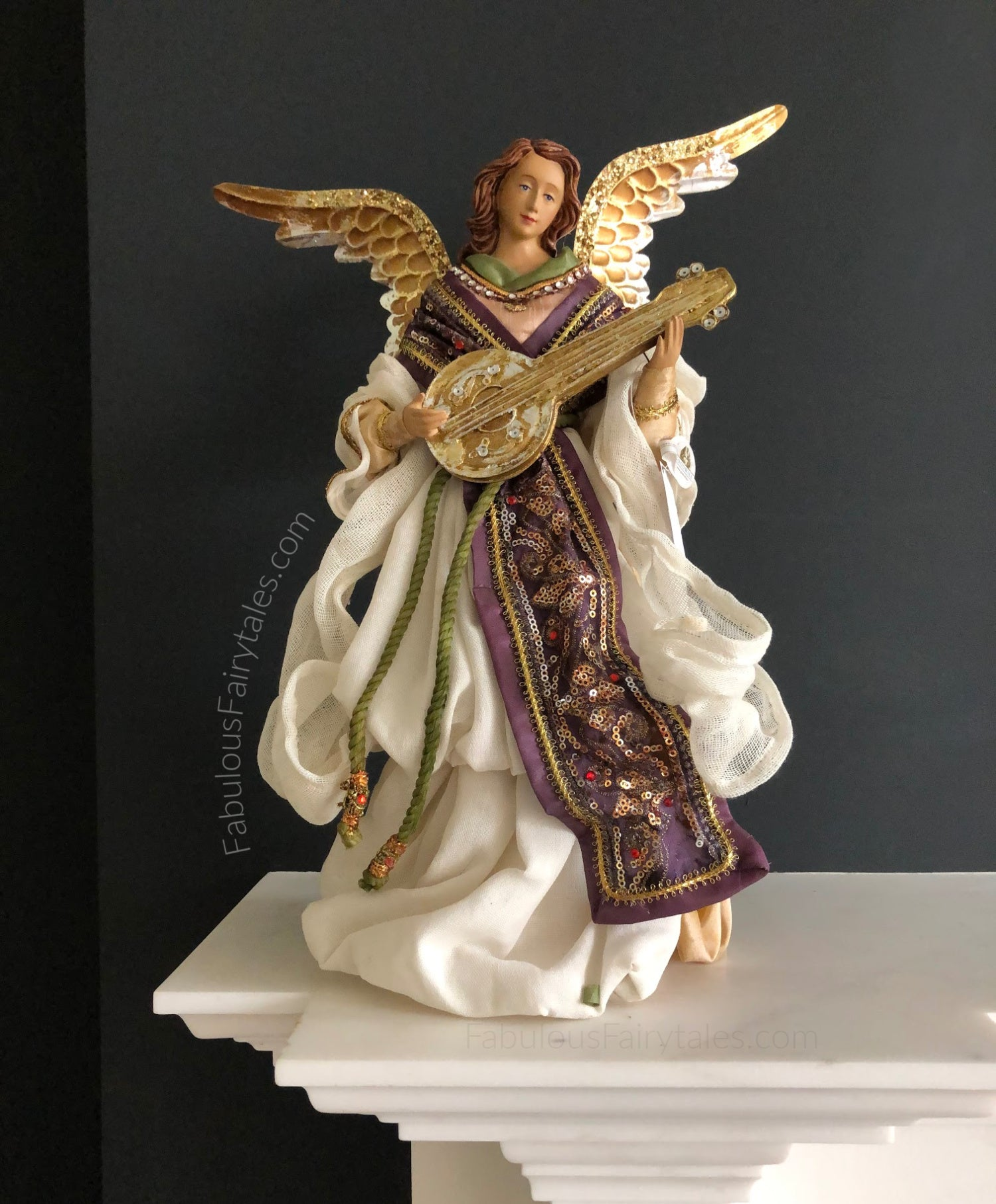 Divine Music Angel Nativity Luxury Decoration