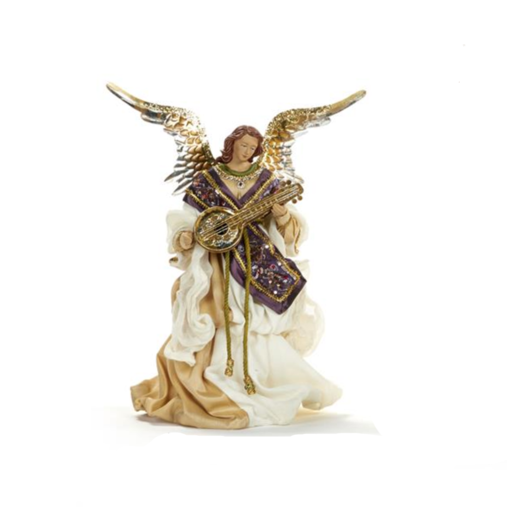 Divine Music Angel Christmas Nativity Decoration