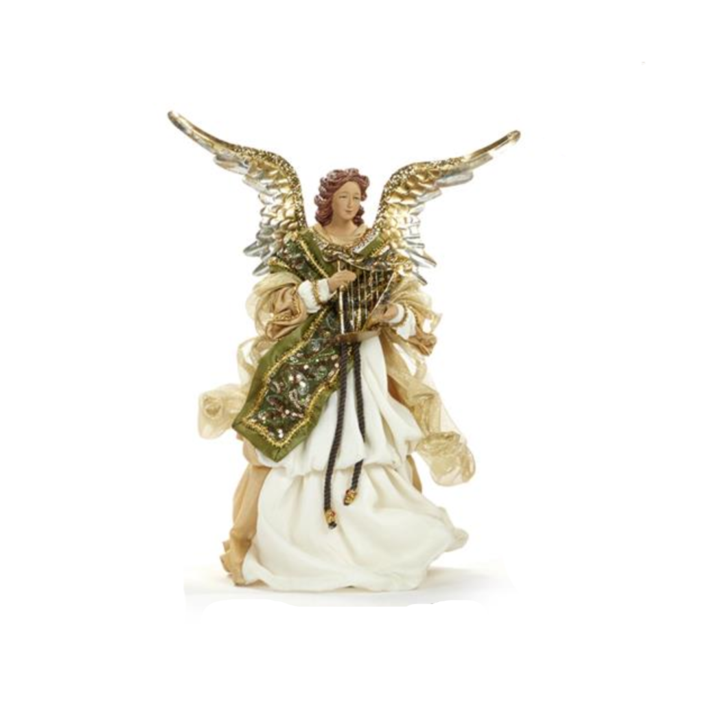 Divine Music Angel Nativity Christmas Ornament