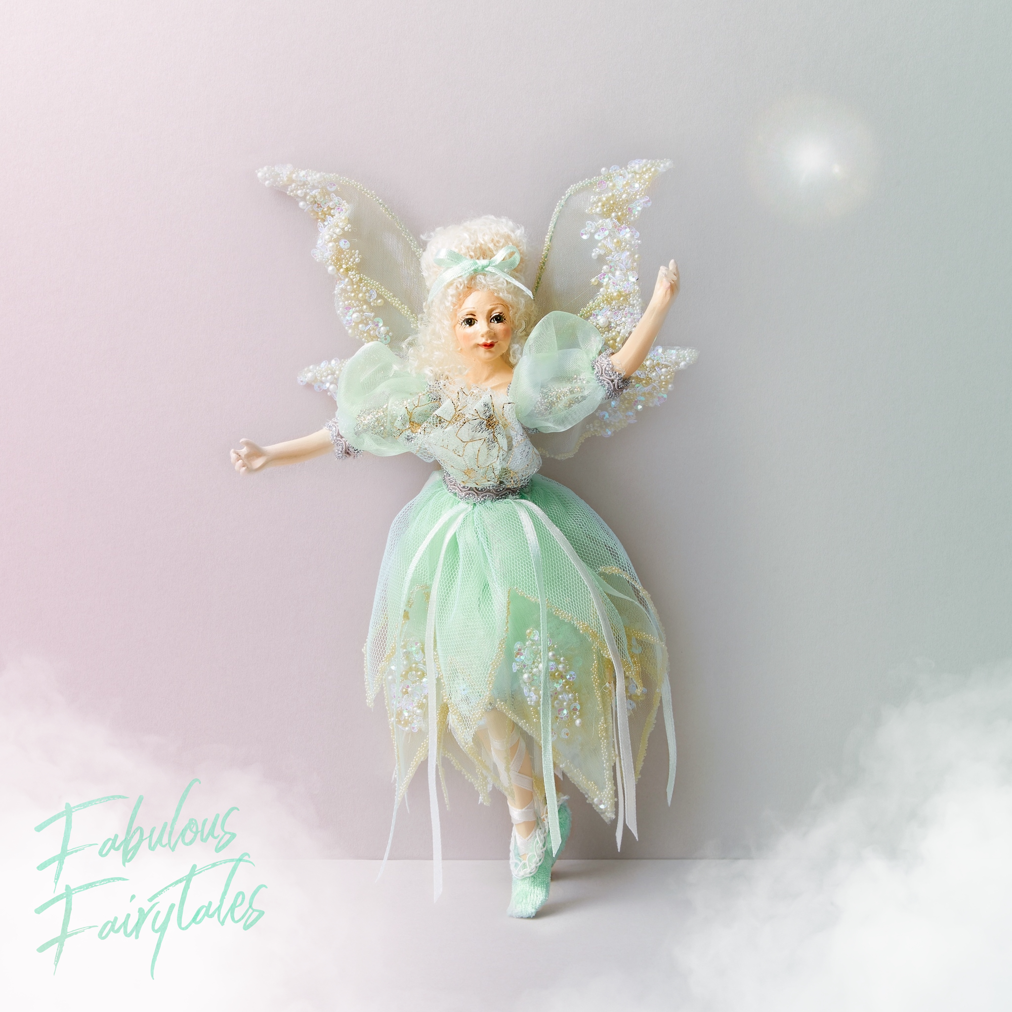 Dreamland Fairy Decor Ornaments - Aurora