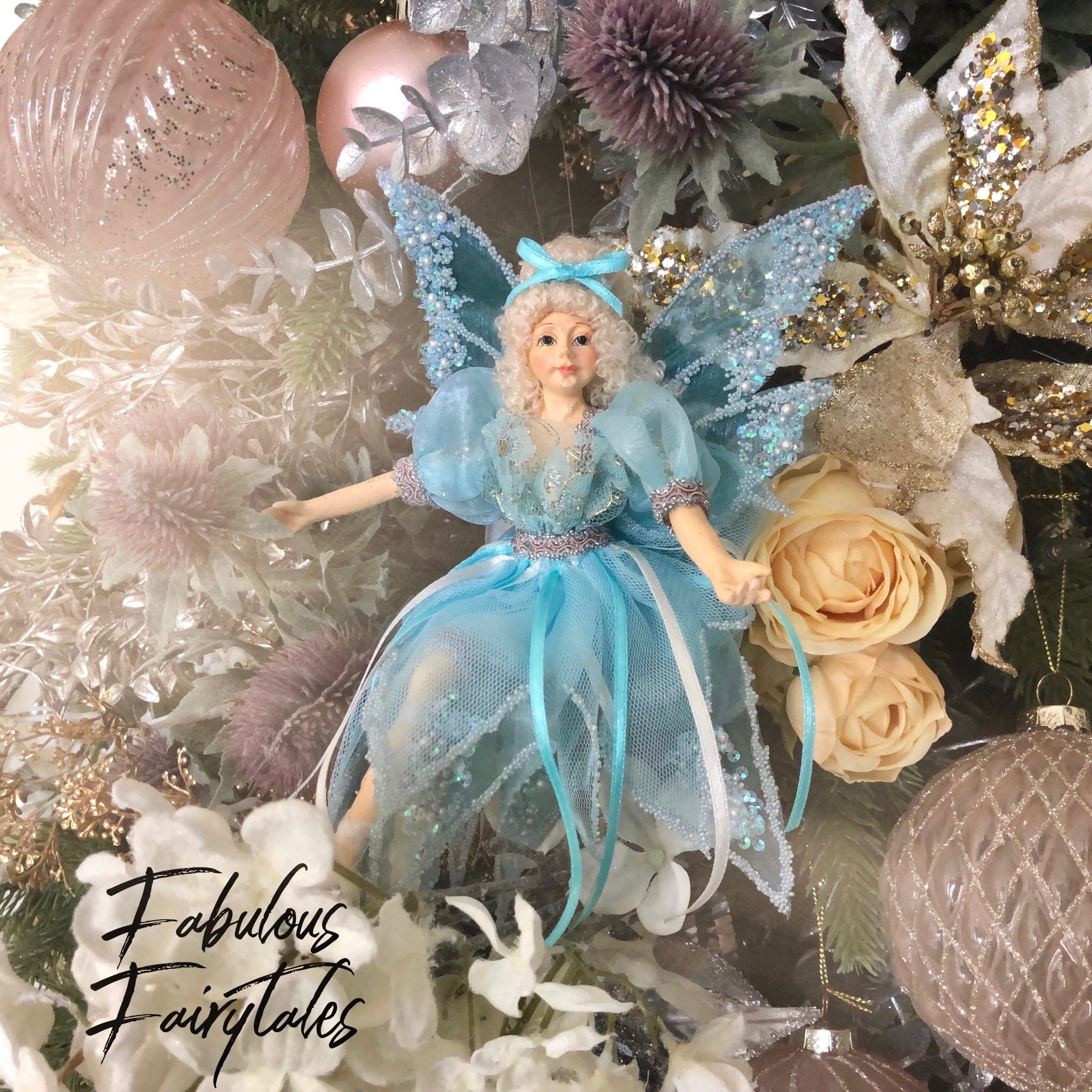 Bluebelle Dreamland Fairy Ornament