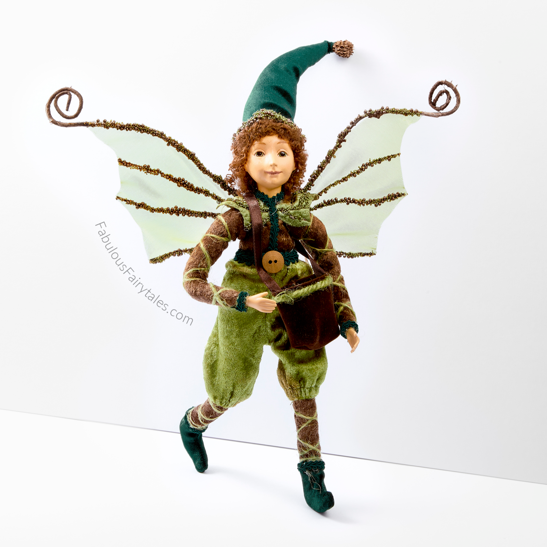 Henry the Forest Explorer Fairy Figurine