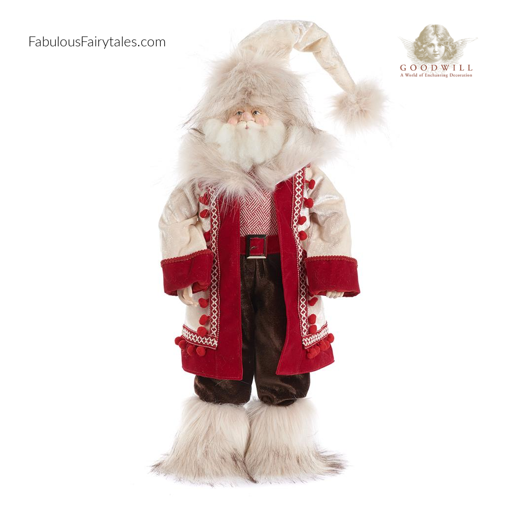 Goodwill Lapland Winter Santa Display Figure