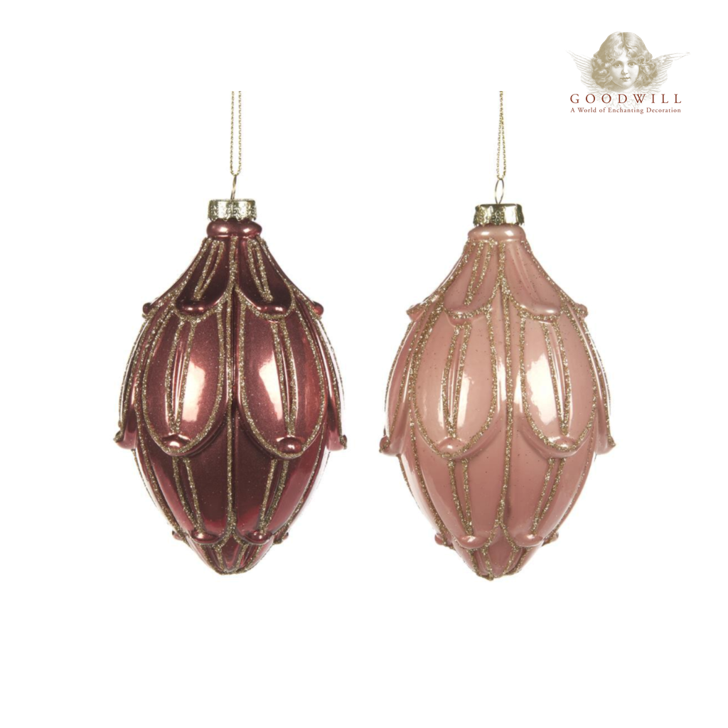 Elegant Christmas Bauble Decorations