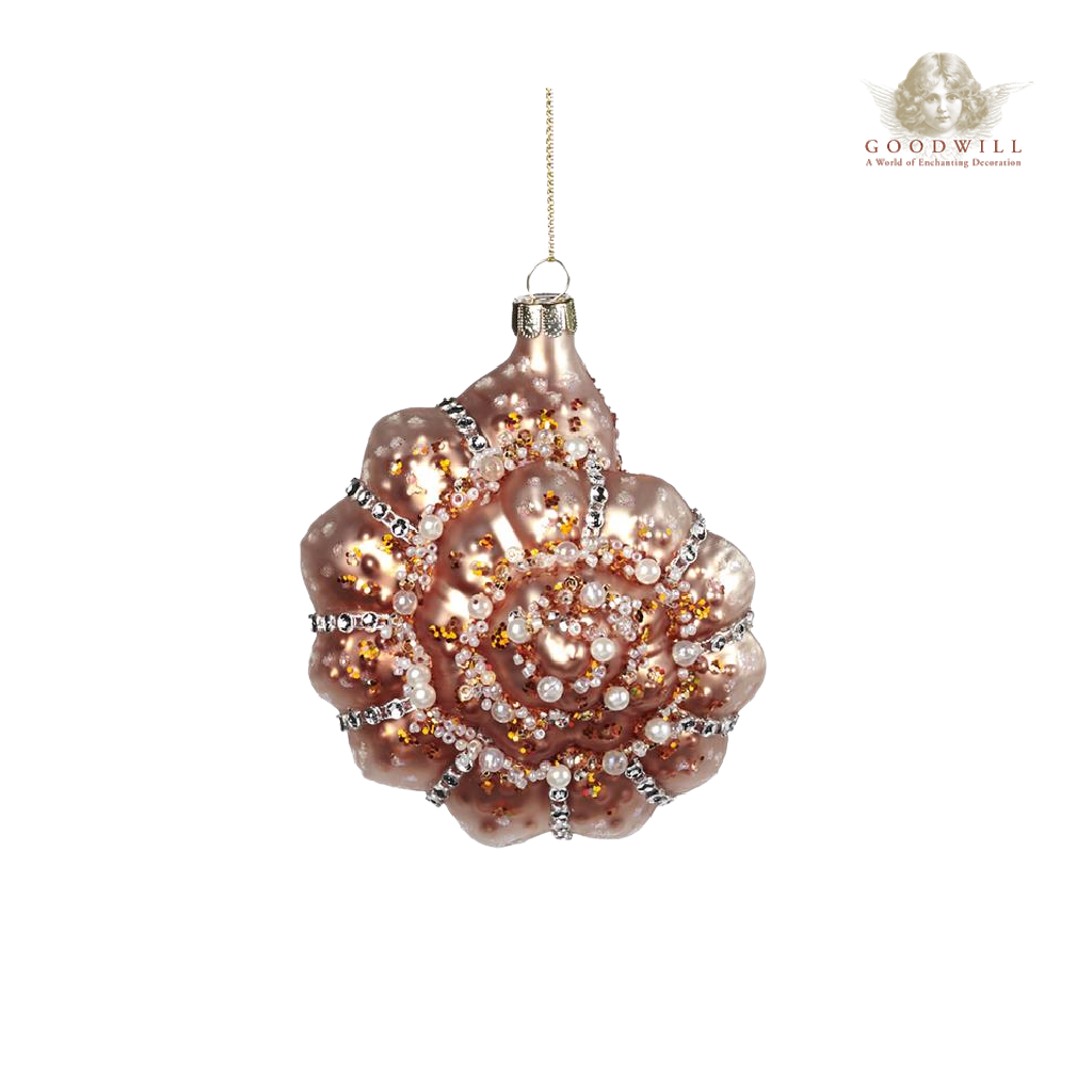 Glass Pearl Jewel Ocean Shell Tree Ornaments