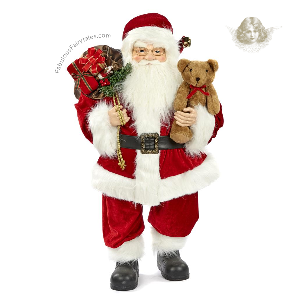 Goodwill Classic Christmas Santa Display Figure