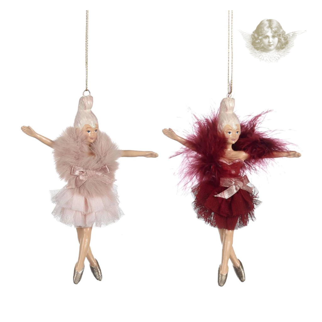 Goodwill Boudoir Ballerina Christmas Ornament