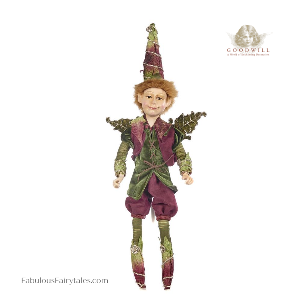 Goodwill Rocco Forest Elf Christmas Decoration