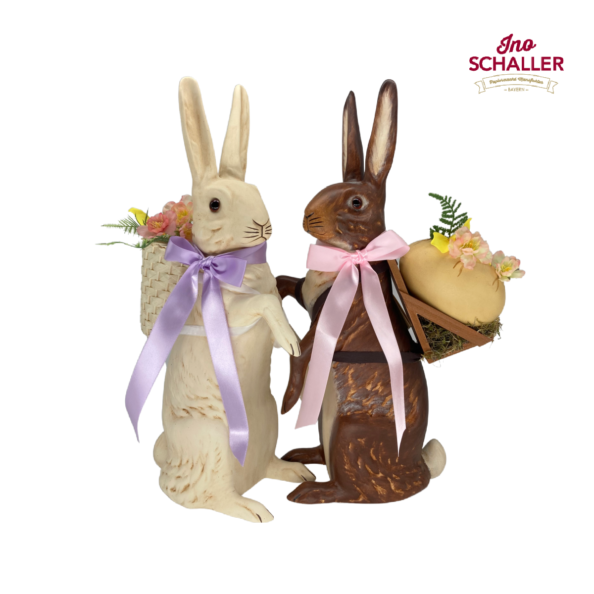 Ino Schaller Easter Bunny Rabbit Candy Container
