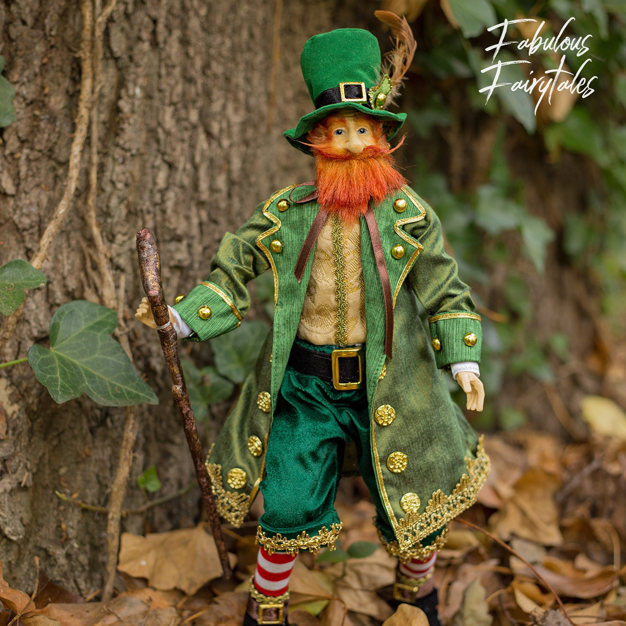 Murphy the Lucky Leprechaun St Patrick's Doll