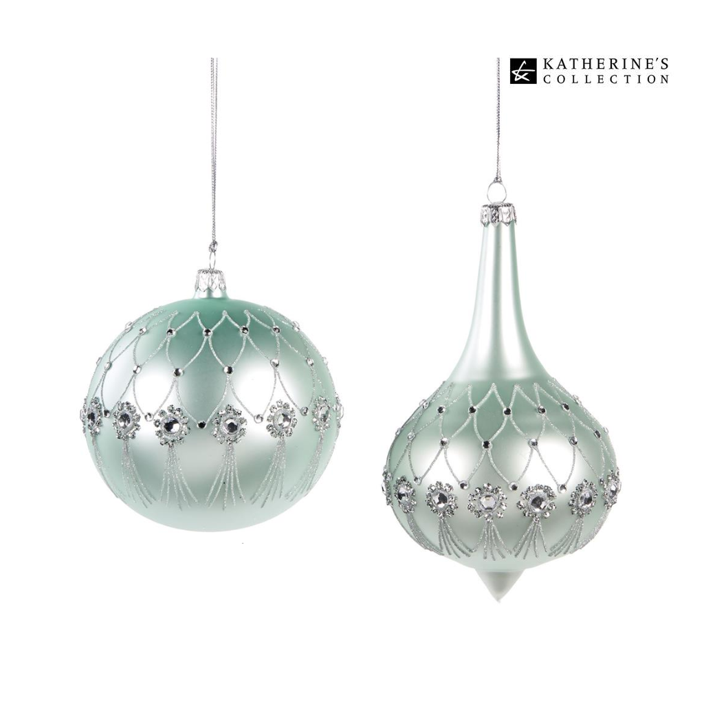 Katherine's Collection Elegant Daydream Luxury Christmas Baubles