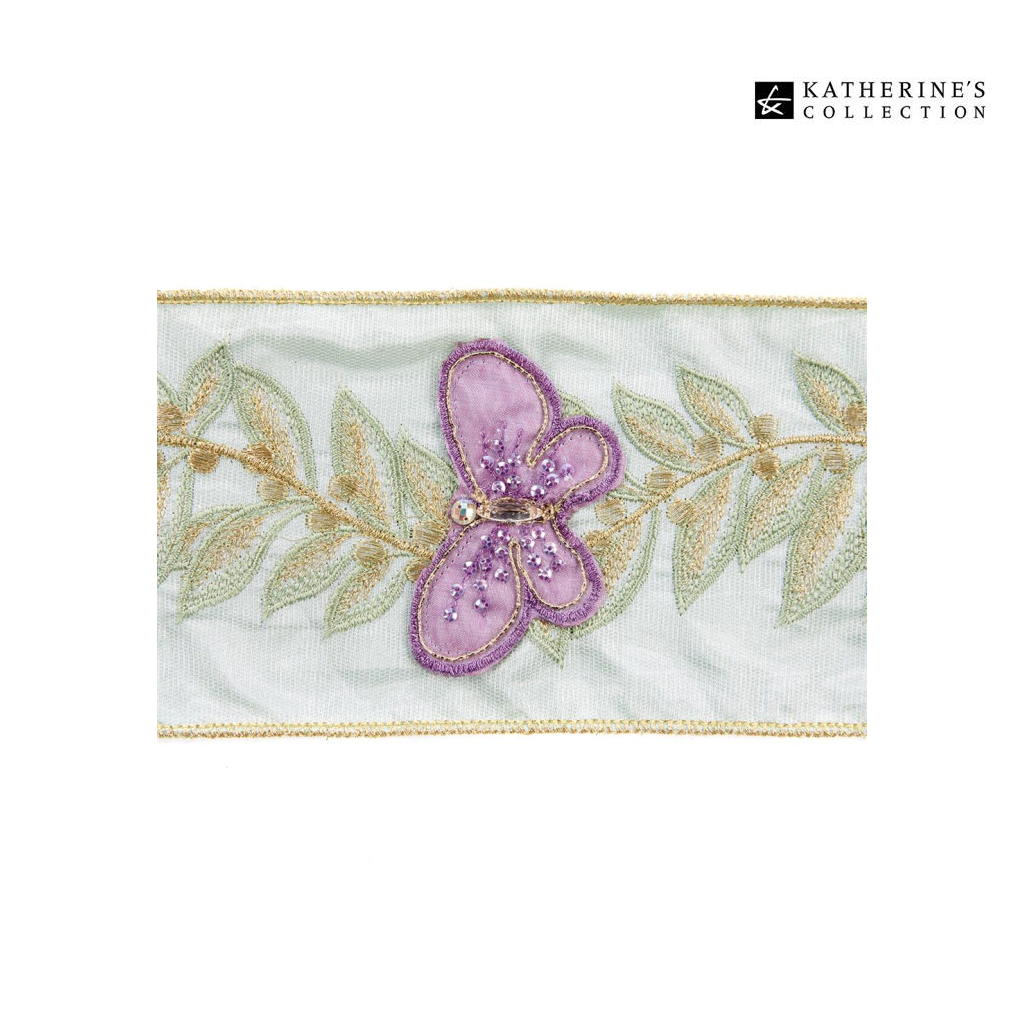 Katherine's Collection Daydreaming Floral Vine Ribbon