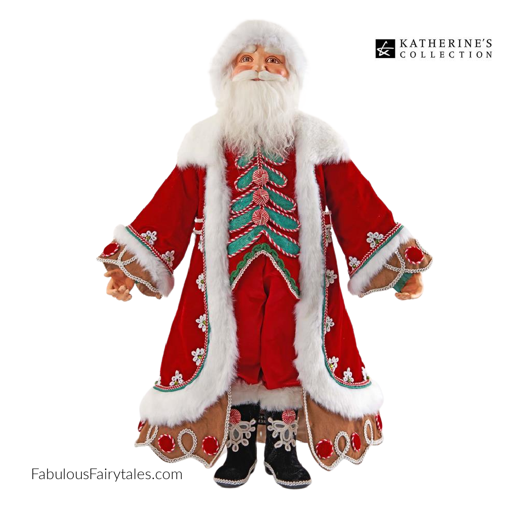 Katherine's Collection 2021 Gingerbread Santa