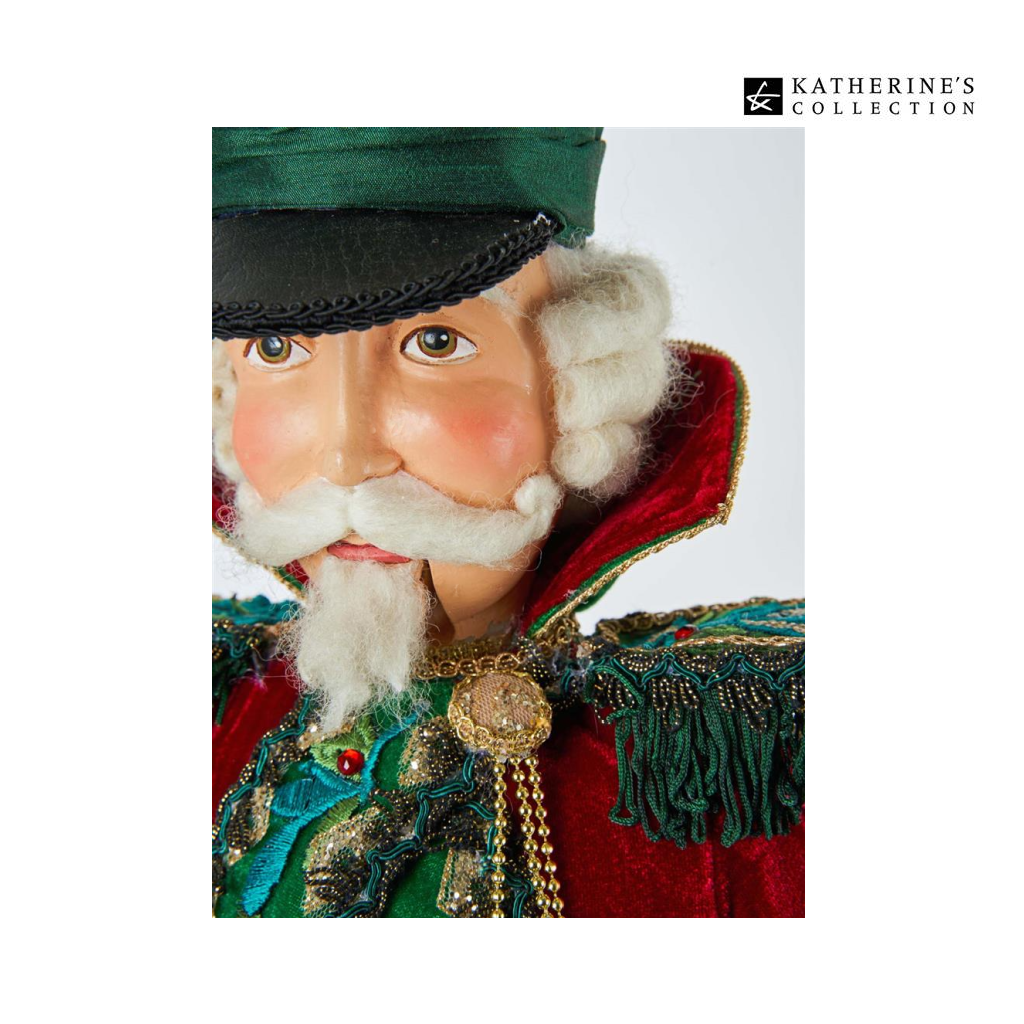 Katherine's Collection Officer G.Tidings Nutcracker Doll