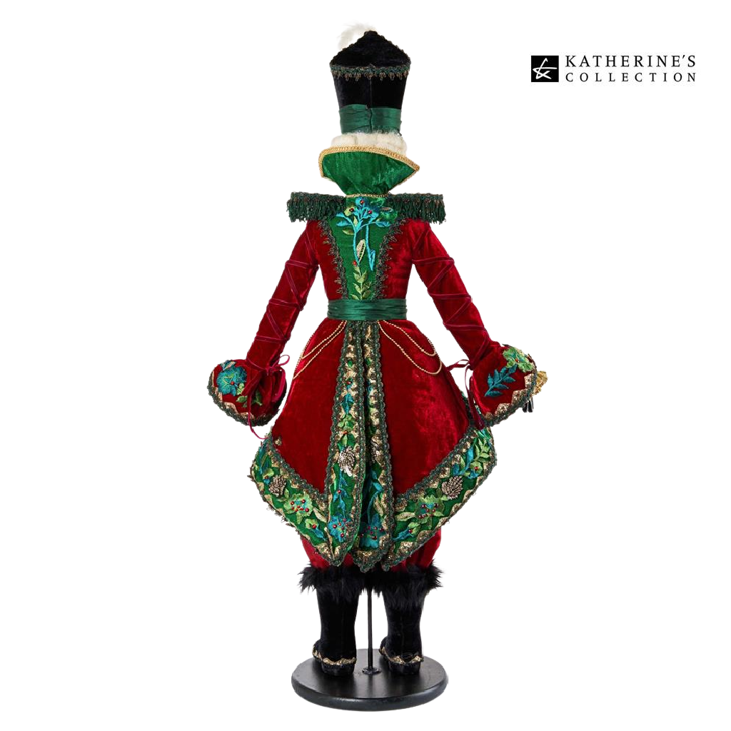 Katherine's Collection 2021 Officer Glorious Tidings Nutcracker Doll