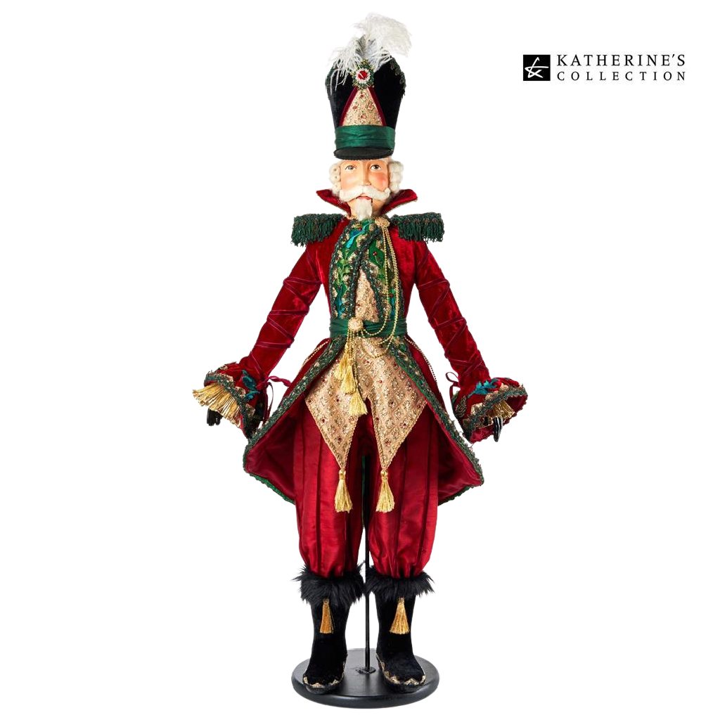 Katherine's Collection 2021 Officer G.Tidings Nutcracker Doll