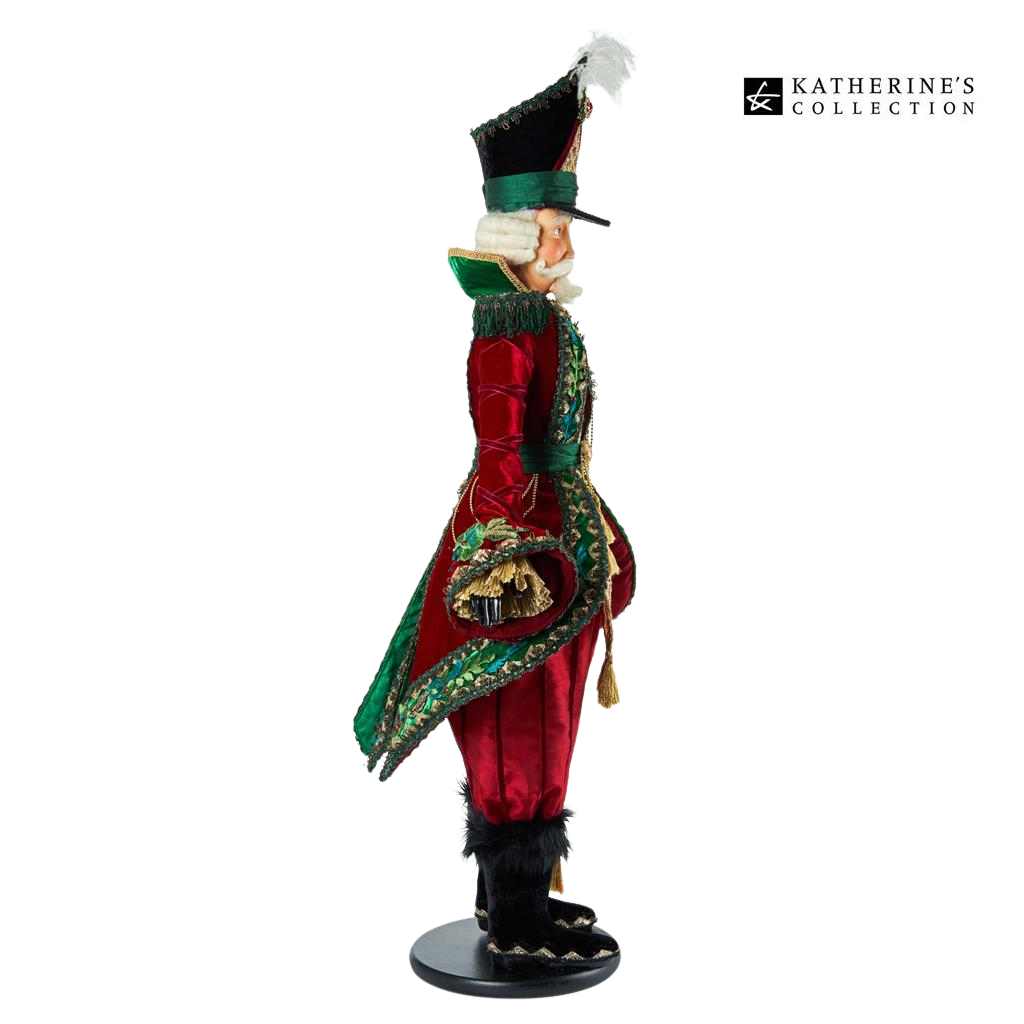 Katherine's Collection 2021 Officer G.Tidings Nutcracker