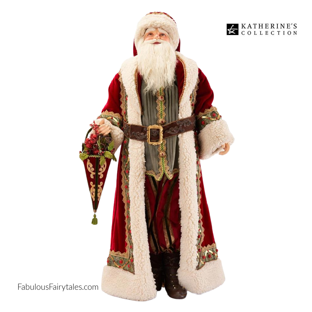 Katherine's Collection 2021 Old World Santa Display Doll