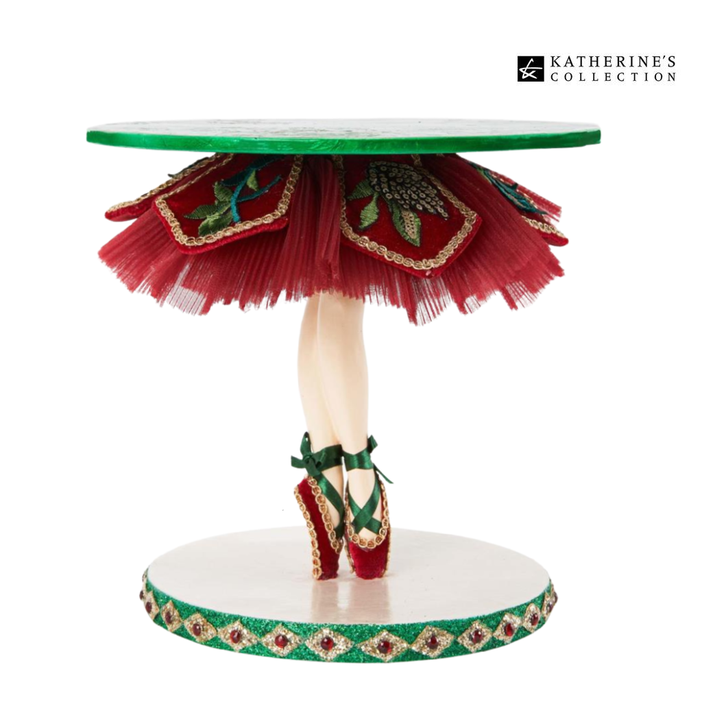 Katherines Collection Ballerina Tiptoe Cake Stand