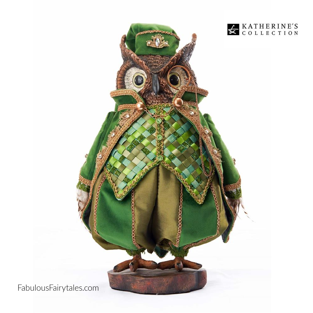 Katherine's Collection 2021 Evergreen Lane Owl