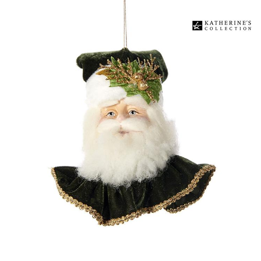 Katherines Collection Gifts of Christmas Classic Santa Decoration