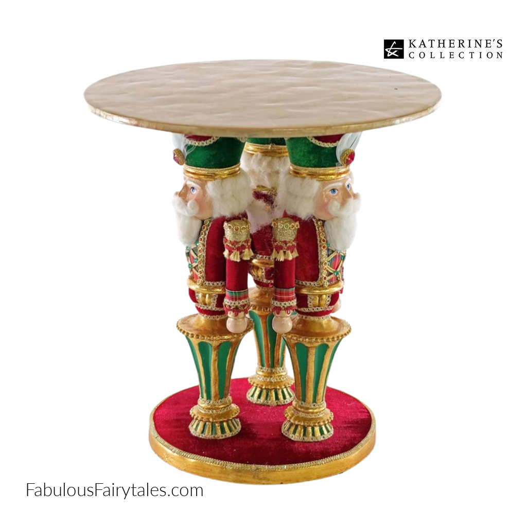 Katherines Collection Nutcracker Wish Luxury Christmas Cake Stand
