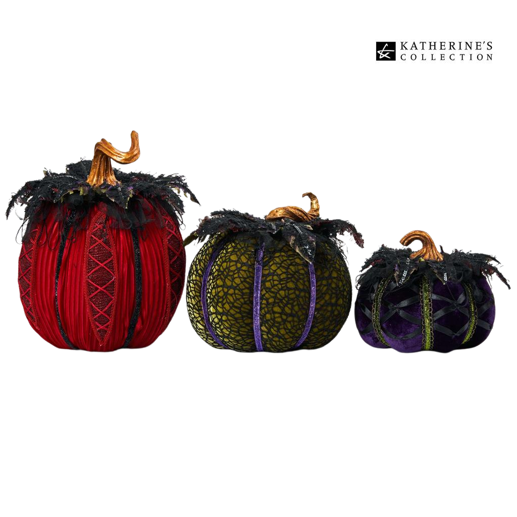 Katherines Collection Which Way to Witchville Pumpkins