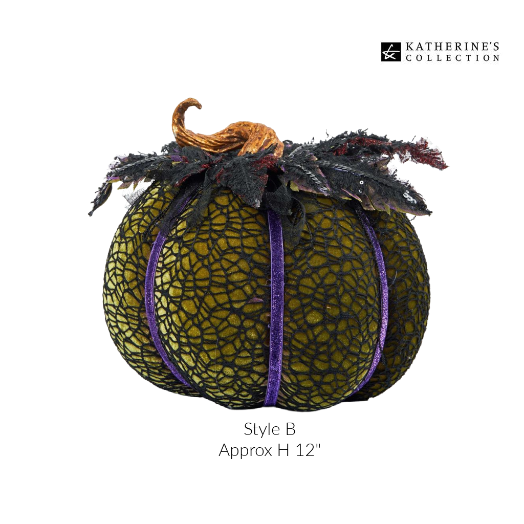 Katherines Collection Halloween Pumpkin