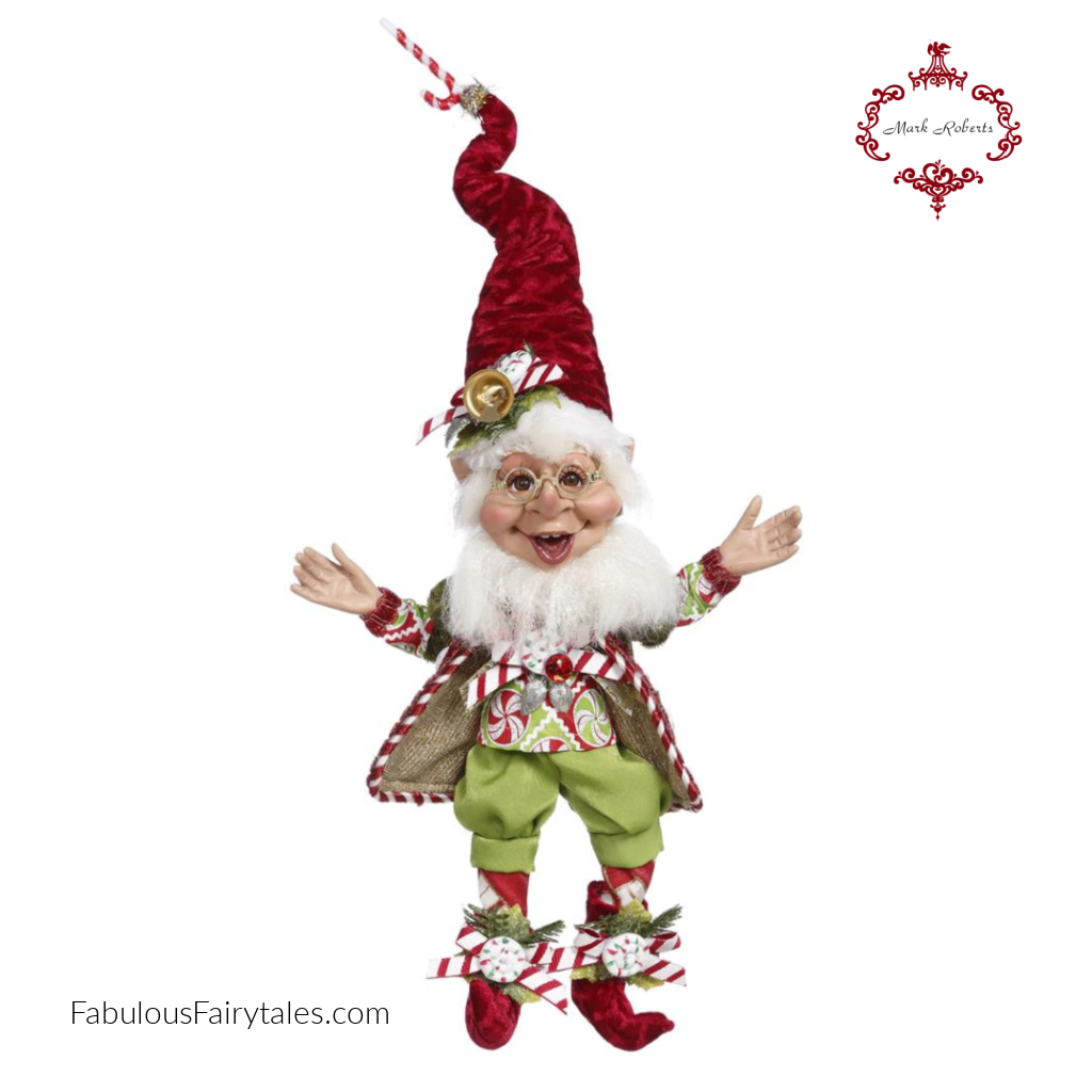 Mark Roberts Candy Cane Elf Christmas Decor