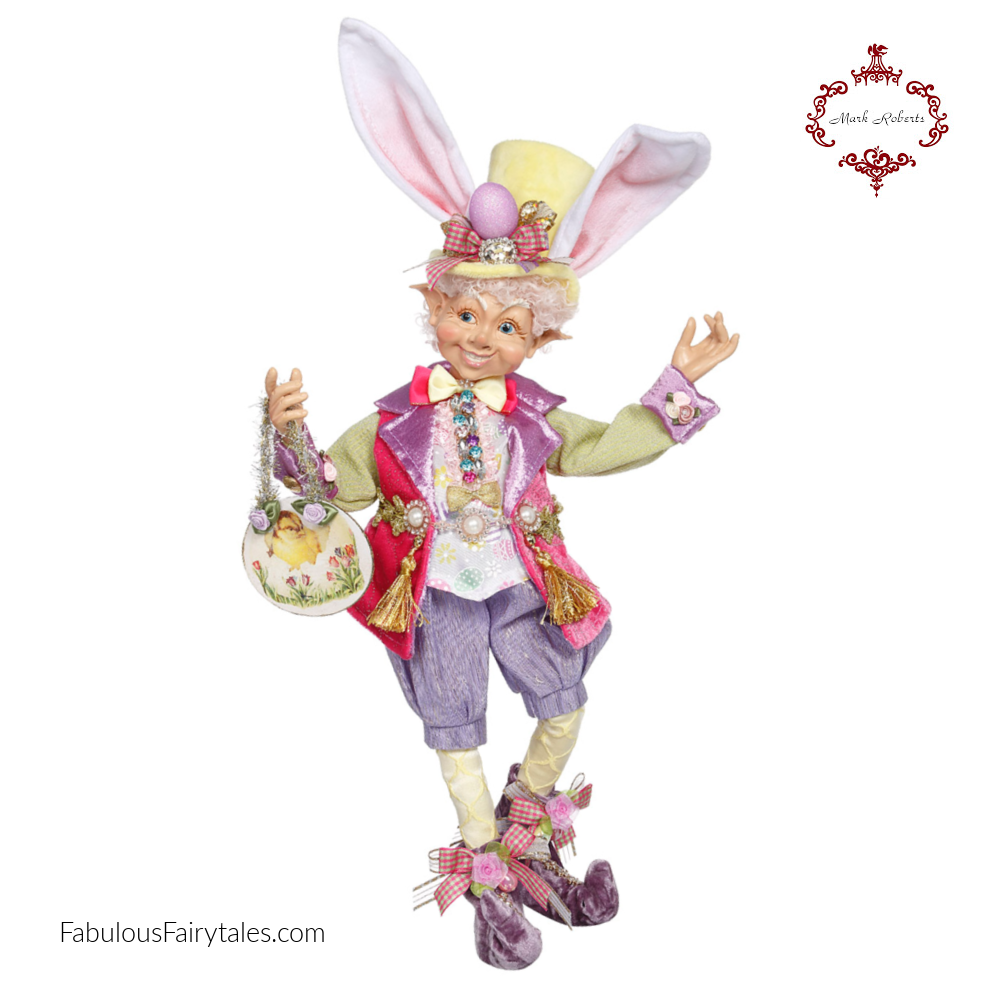Mark Roberts Easter Bunny Elfin Decor Figure