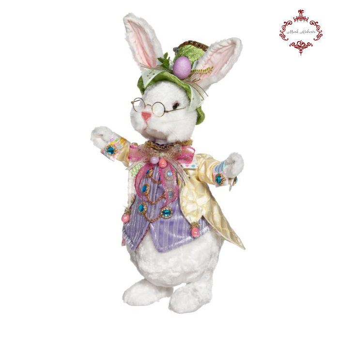 Mark Roberts Mr Fluffy Happy Easter Bunny