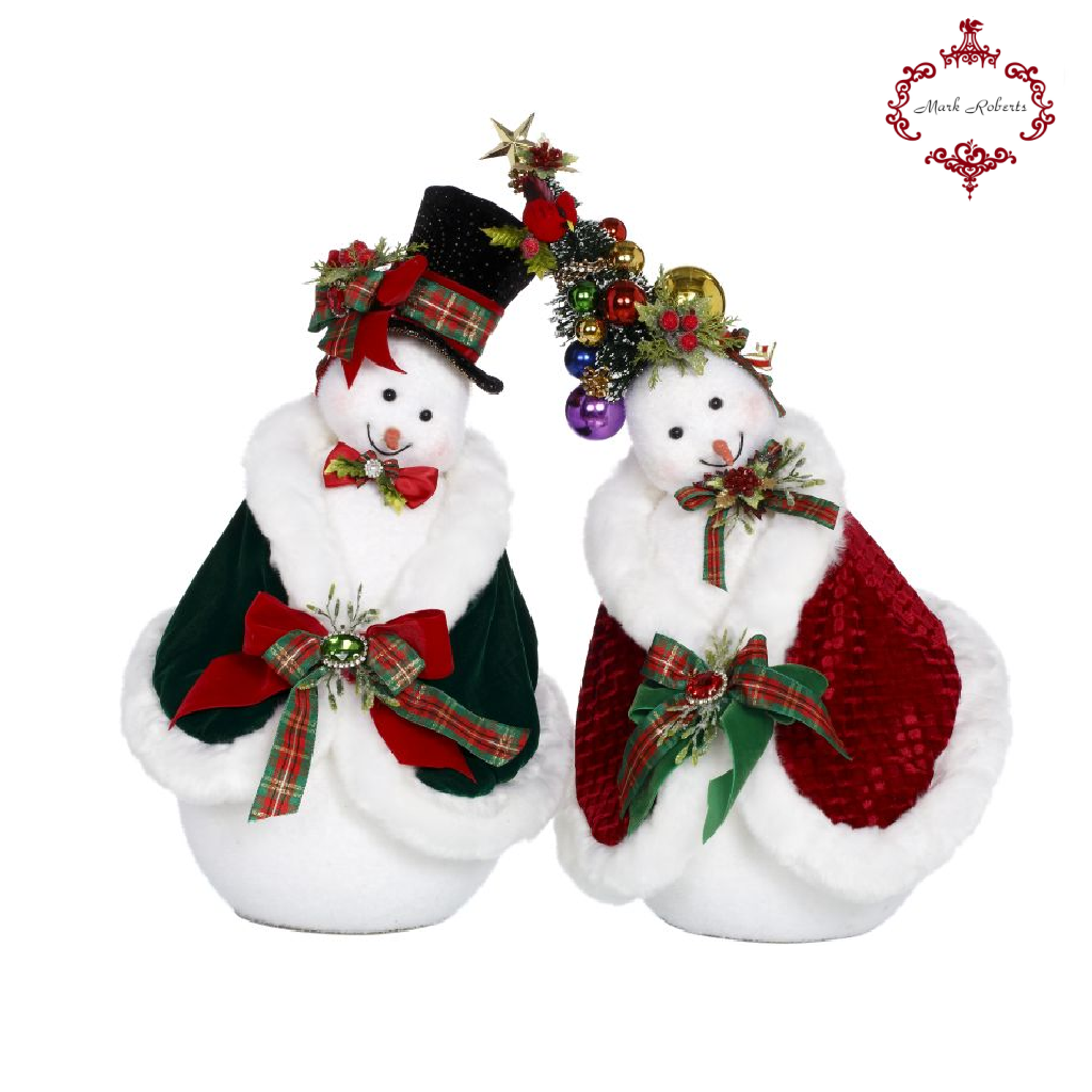Mark Roberts Christmas Snowman Couple