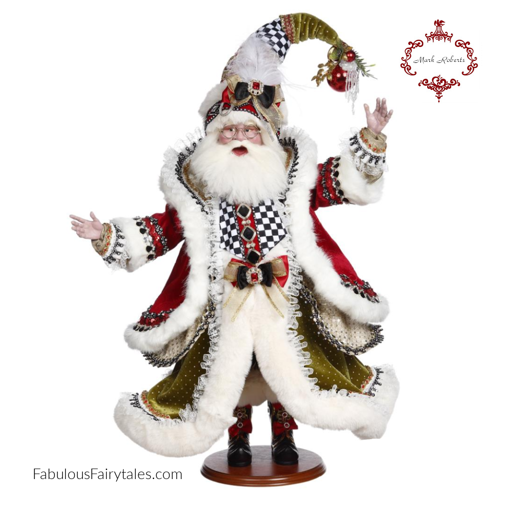 Mark Roberts Night Before Xmas Santa Collectibles