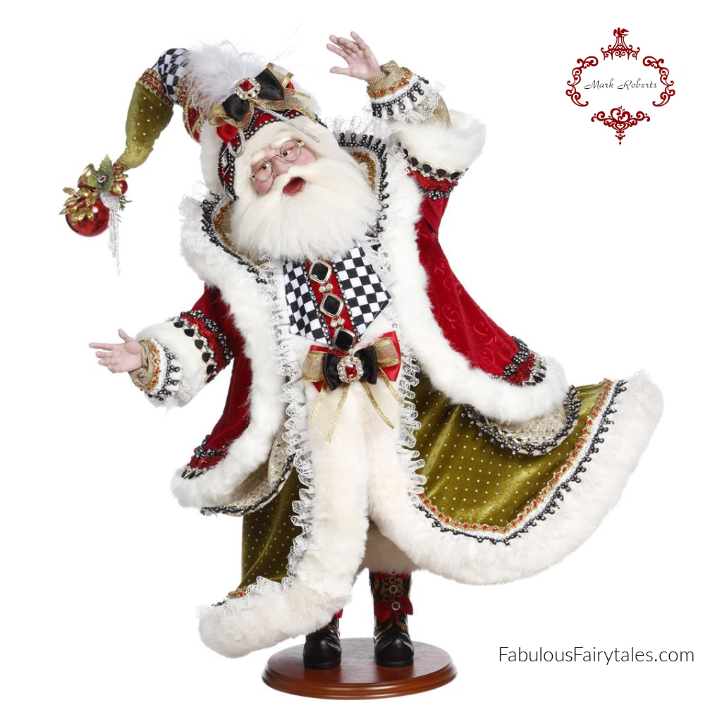 Mark Roberts Night Before Xmas Santa Display Doll