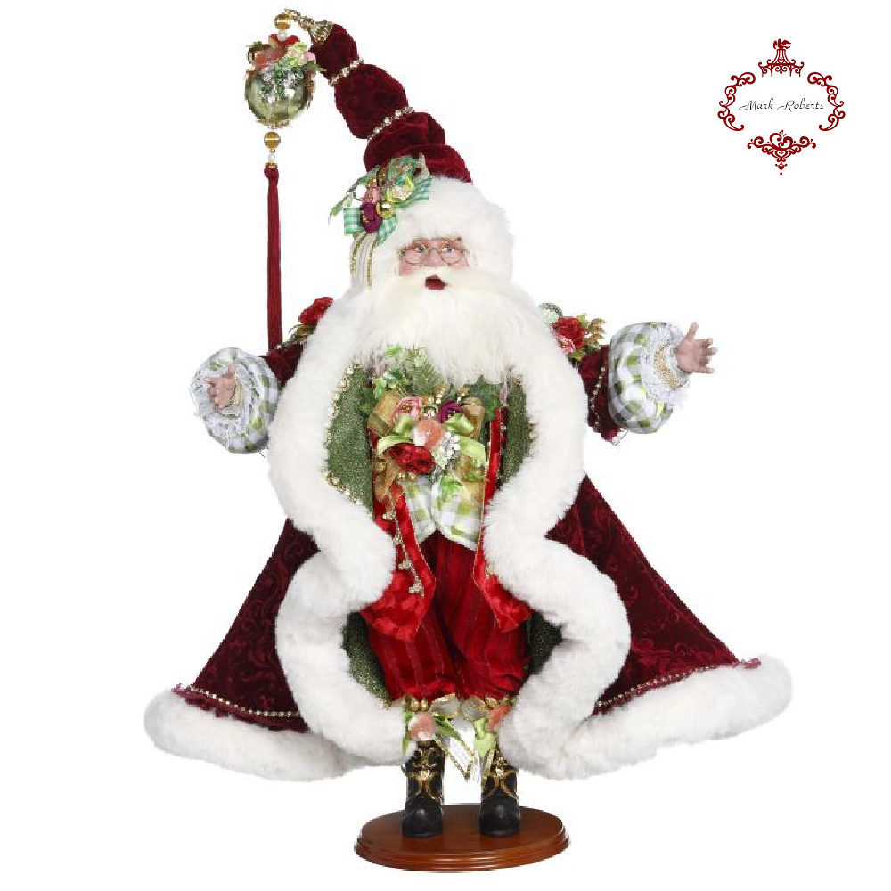 Mark Roberts Noel Santa Display Figure
