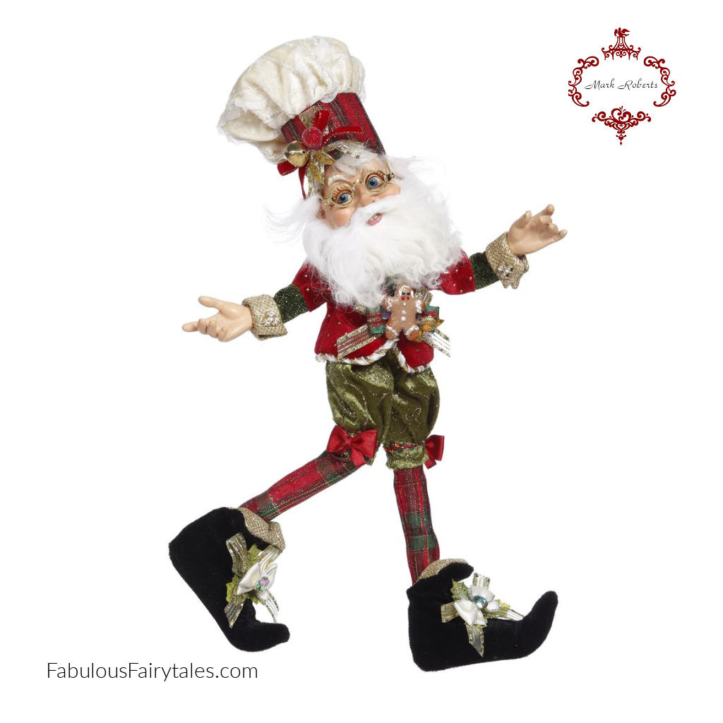 Mark Roberts North Pole Christmas Cookie Maker Elf